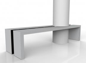 Custom Exterior Concrete Table