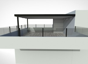 Custom Home Architectural Patio/Awning