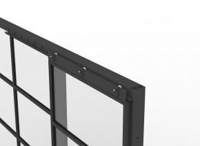 Interior Modular Office System With Sliding Door