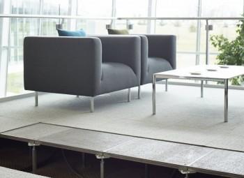 Haworth Teccrete Floors